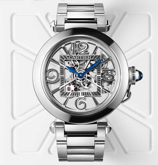 AAA fake watches are matched with steel cases and steel bracelets.