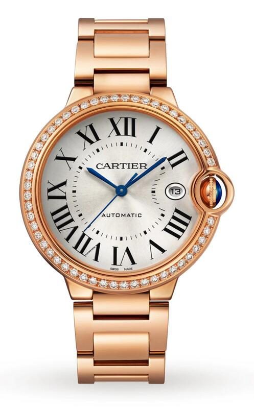 Swiss fake watches become rather valuable with 18k rose gold material.